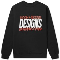 Noon Goons La Paris Crew Sweat Black