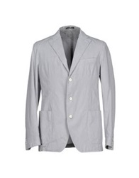 Henry Cotton's Blazers Light Grey