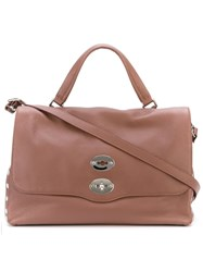 Zanellato Medium 'Postina' Satchel Pink And Purple