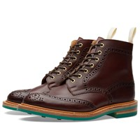 Trickers End. X Tricker's Club Sole Stow Boot
