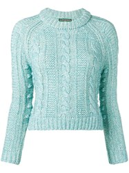 Alexachung Alexa Chung Knitted Sweater Blue