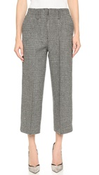 Edun Plaid Skater Pants Grey