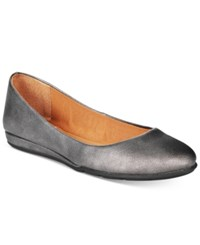 American Rag Ellie Flats Only At Macy's Women's Shoes Pewter
