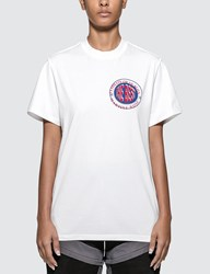 Martine Rose Inverted T Shirt White