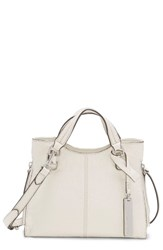 Vince Camuto Small Riley Leather Tote Grey Vaporous Grey
