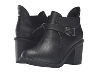 Blowfish Mina Black Old Ranger Black Chopped Pu Women's Pull On Boots