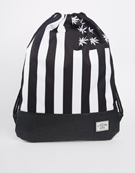 Cayler And Sons Cayler And Sons Budz And Stripes Gym Bag Black