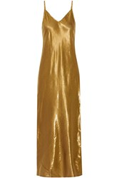 Mes Demoiselles Brune Lame Maxi Dress Bronze