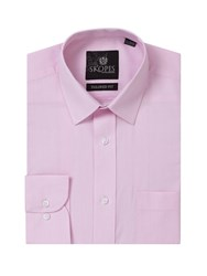 Skopes Easy Care Formal Tailored Shirts Pink