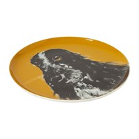 Joules Pawcasso Side Plate Gold Dog