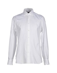 Mp Massimo Piombo Shirts Shirts Men White