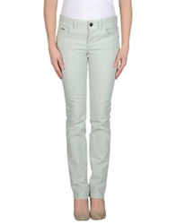 Dek'her Denim Pants Light Green