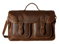Scully Squadron School Bag Antique Brown Bags