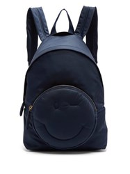 Anya Hindmarch Chubby Wink Backpack Navy
