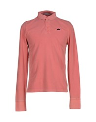 Sundek Topwear Polo Shirts Men Coral