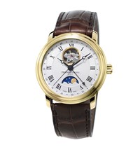 Frederique Constant Classics Moonphase Automatic Watch Unisex Gold