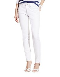 Vince Camuto Five Pocket Skinny Jeans Ultra White