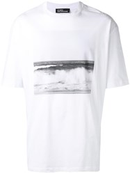 Raf Simons Photo Print T Shirt White