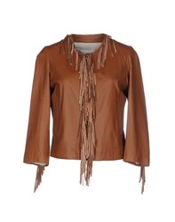 .. Merci Coats And Jackets Jackets Women Brown