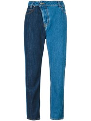 Vivienne Westwood Anglomania Five Pocket Boyfriend Jeans Blue