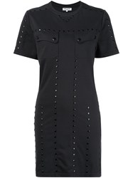 Opening Ceremony Studded T Shirt Dress Black
