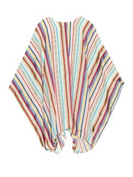 Maison Rabih Kayrouz Baydere Striped Jacquard Oversized Top Multi