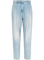 Magda Butrym Wide Leg Tapered Jeans 60