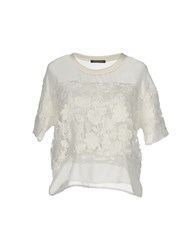Happiness Shirts Blouses White