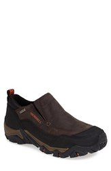 Men's Merrell 'Polarand Rove' Waterproof Slip On Black Slate
