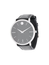 Movado Ultra Slim Watch Black