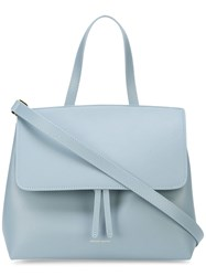 Mansur Gavriel Mini Lady Bag Blue