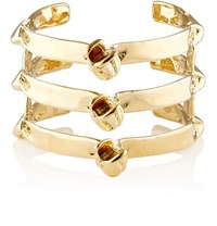Jennifer Fisher Women's Triple Ribbon Cuff Gold