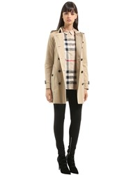Burberry Heritage Mid Length Trench Coat