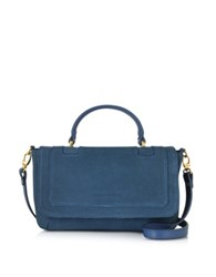 L'autre Chose Suede Shoulder Bag