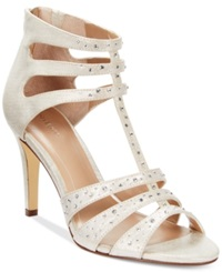 Style And Co. Ulani2 Evening Pumps Women's Shoes Off White