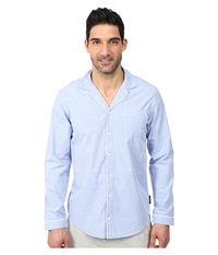 Calvin Klein Underwear Chambray Long Sleeve Top Blue Chambray Men's Pajama