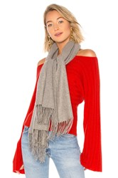 Hat Attack Chic Muffler Scarf Gray