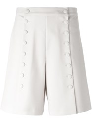 See By Chloe A Line Buttoned Shorts Nude Neutrals