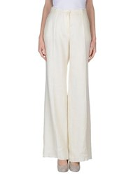 Diana Gallesi Trousers Casual Trousers Women Ivory