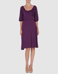 Armand Basi Short Dresses Purple