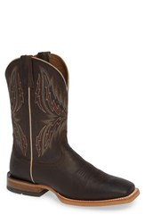 Ariat Arena Rebound Cowboy Boot Brown Desert Leather