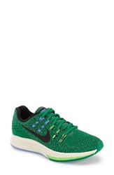 Women's Nike 'Air Zoom Structure 19' Running Shoe Lucid Green Black Sail