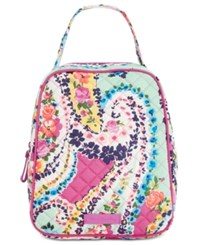 Vera Bradley Signature Lunch Bunch Bag Wildflower Paisley