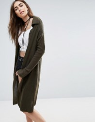 Raga In The Meadow Olive Cardigan Olive Green