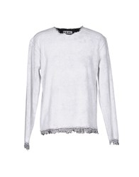 Haal Topwear Sweatshirts Light Grey