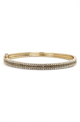 Judith Jack Three Row Bangle Bracelet Gold