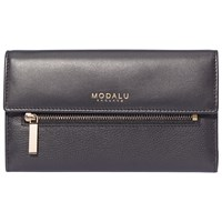 Modalu Erin Contintental Leather Wallet Black