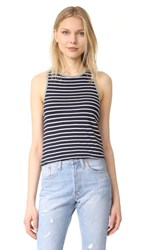 Stateside Stripe Tank Navy