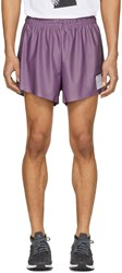 Satisfy Purple Short Distance 2.5 Shorts