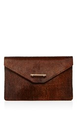 M2malletier Envelope Clutch Brown